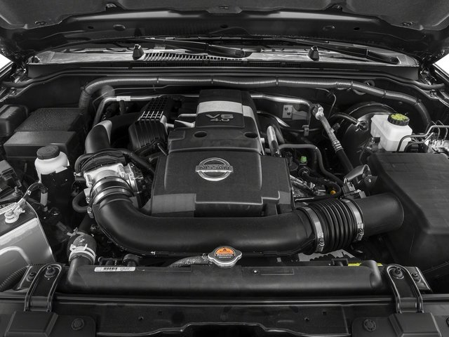 2015 Nissan Frontier Prices and Values Crew Cab SL 2WD engine