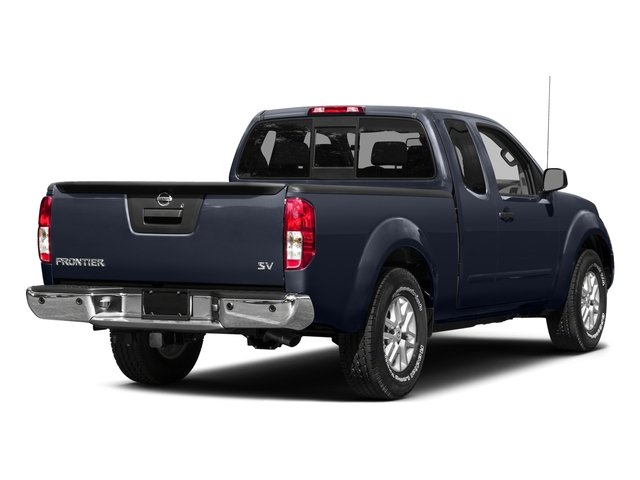2015 Nissan Frontier Prices and Values King Cab SV 2WD side rear view