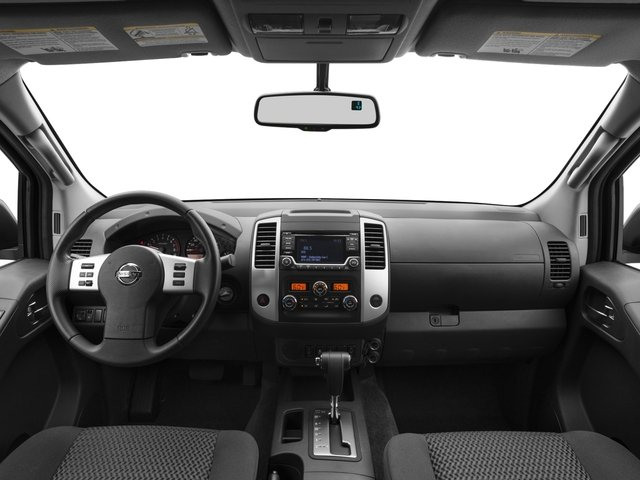 2015 Nissan Frontier Prices and Values King Cab SV 2WD full dashboard