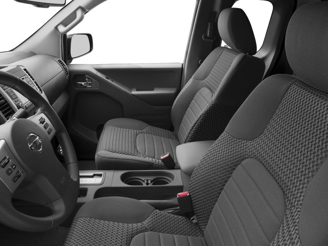 2015 Nissan Frontier Prices and Values King Cab SV 2WD front seat interior