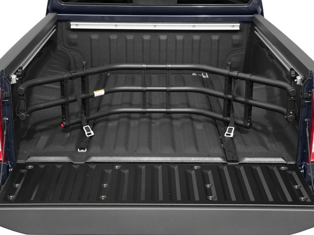 2015 Nissan Frontier Prices and Values King Cab SV 2WD open trunk