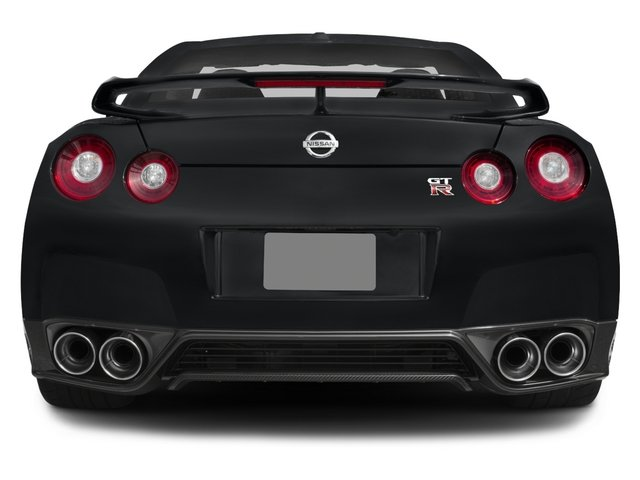 2015 Nissan GT-R Prices and Values Coupe 2D Premium AWD V6 Turbo rear view
