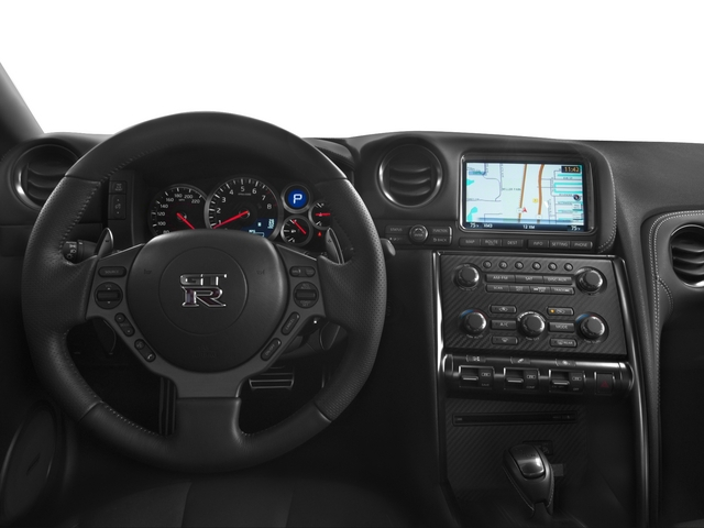 2015 Nissan GT-R Prices and Values Coupe 2D Premium AWD V6 Turbo driver's dashboard