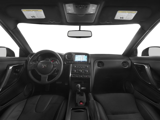 2015 Nissan GT-R Prices and Values Coupe 2D Premium AWD V6 Turbo full dashboard