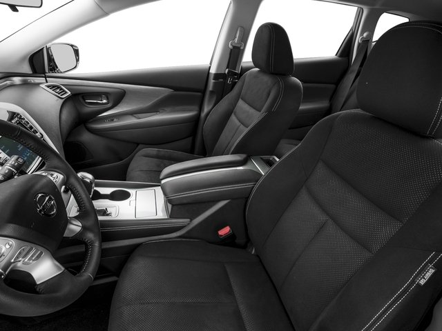 2015 Nissan Murano Prices and Values Utility 4D S AWD V6 front seat interior