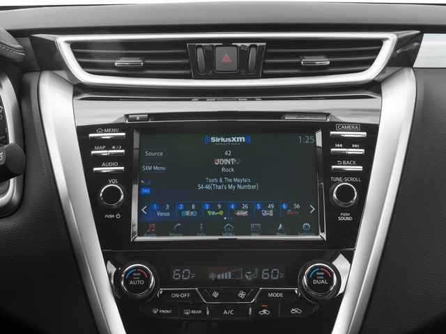 2015 Nissan Murano Pictures Murano Utility 4D S 2WD V6 photos stereo system