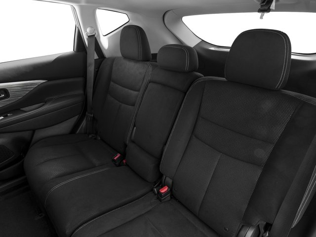 2015 Nissan Murano Prices and Values Utility 4D S AWD V6 backseat interior