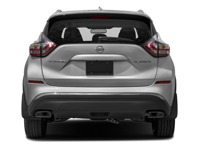 2015 Nissan Murano Prices and Values Utility 4D SL AWD V6 rear view
