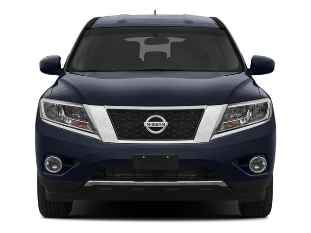 2015 Nissan Pathfinder Prices and Values Utility 4D SV 4WD V6 front view