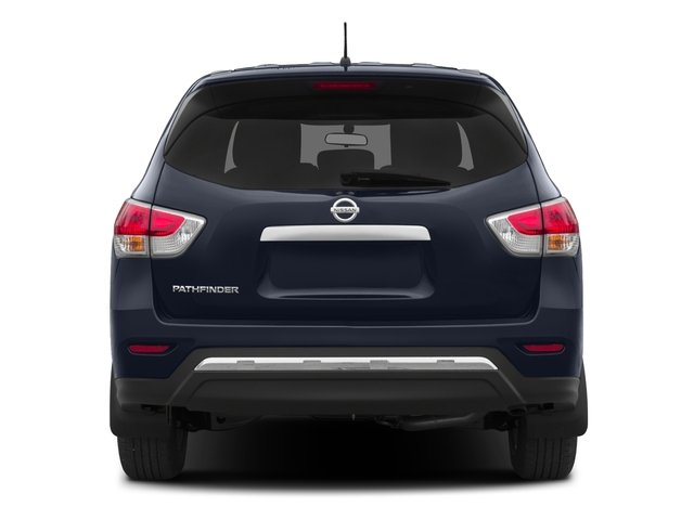2015 Nissan Pathfinder Prices and Values Utility 4D SV 4WD V6 rear view