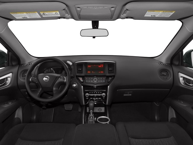 2015 Nissan Pathfinder Prices and Values Utility 4D SV 4WD V6 full dashboard