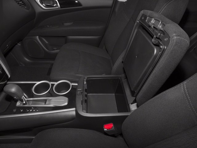 2015 Nissan Pathfinder Pictures Pathfinder Utility 4D S 4WD V6 photos center storage console