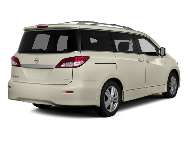 2015 Nissan Quest Prices and Values Wagon 5D S V6 side rear view