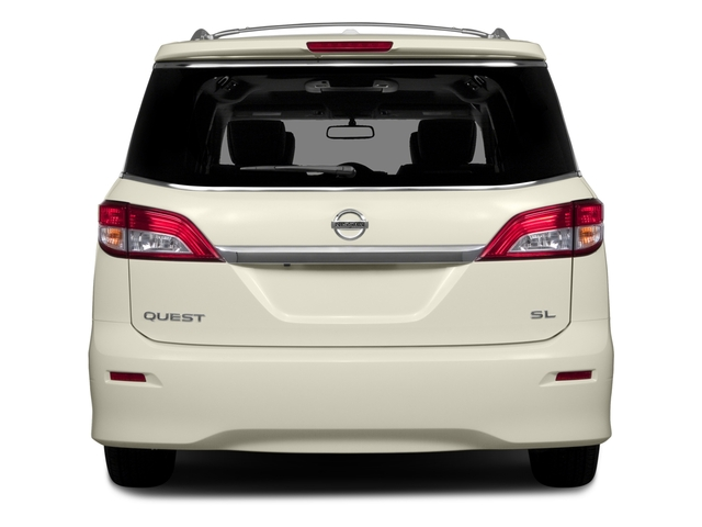 2015 Nissan Quest Prices and Values Wagon 5D S V6 rear view
