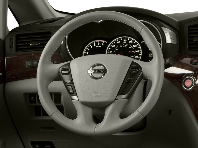 2015 Nissan Quest Prices and Values Wagon 5D S V6 driver's dashboard