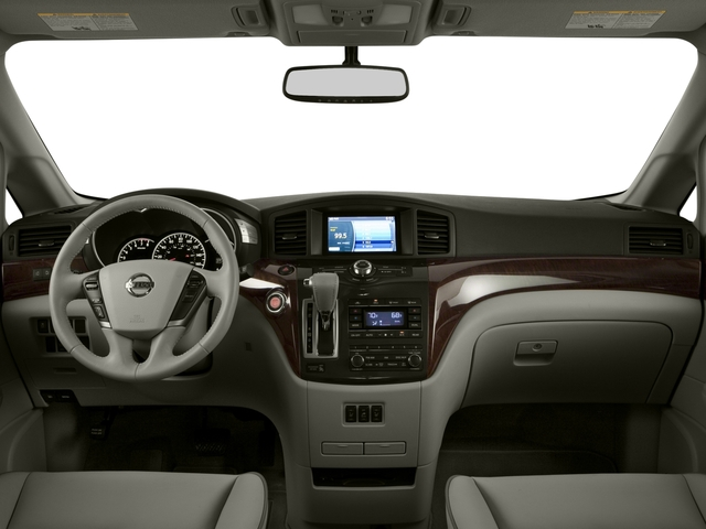 2015 Nissan Quest Prices and Values Wagon 5D S V6 full dashboard