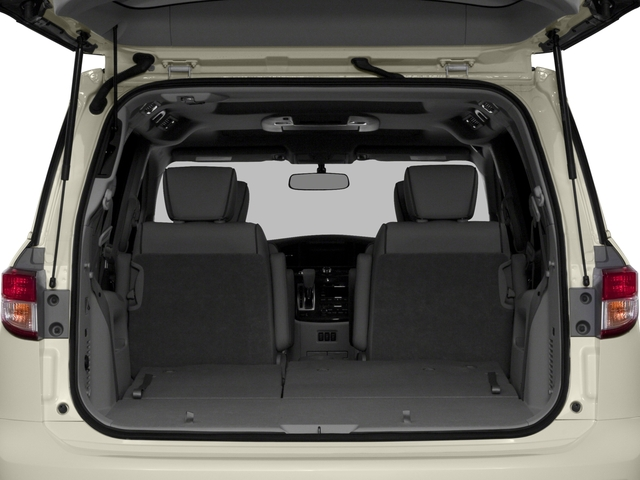 2015 Nissan Quest Prices and Values Wagon 5D S V6 open trunk