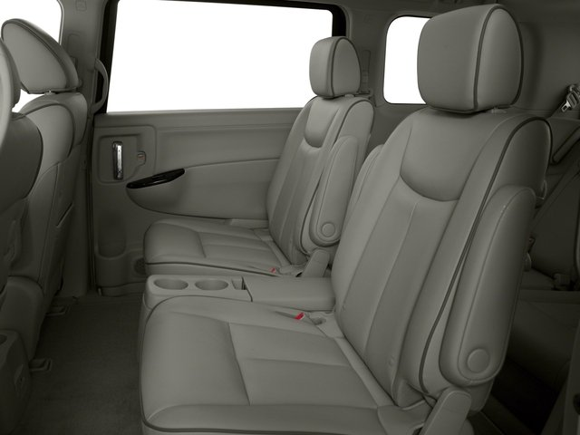 2015 Nissan Quest Prices and Values Wagon 5D S V6 backseat interior