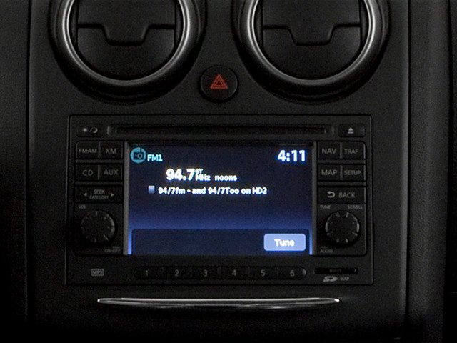 2015 Nissan Rogue Select Prices and Values Utility 4D S 2WD I4 stereo system