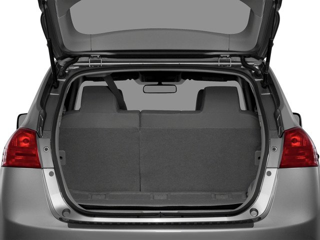2015 Nissan Rogue Select Prices and Values Utility 4D S 2WD I4 open trunk