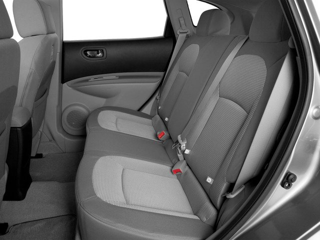 2015 Nissan Rogue Select Prices and Values Utility 4D S 2WD I4 backseat interior