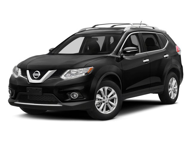 2015 Nissan Rogue Prices and Values Utility 4D SV 2WD I4 side front view