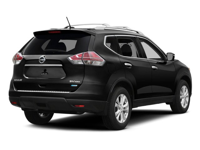 2015 Nissan Rogue Prices and Values Utility 4D S 2WD I4 side rear view