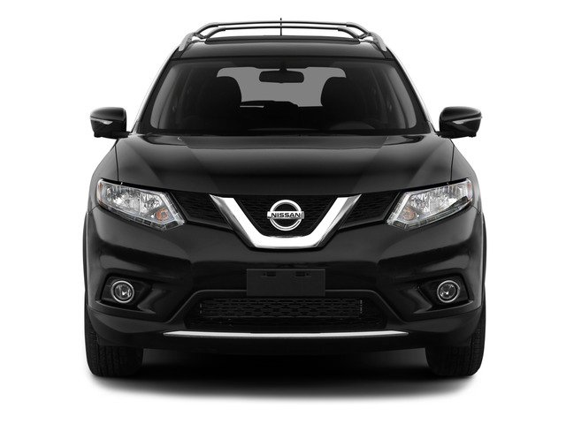 2015 Nissan Rogue Prices and Values Utility 4D SV 2WD I4 front view