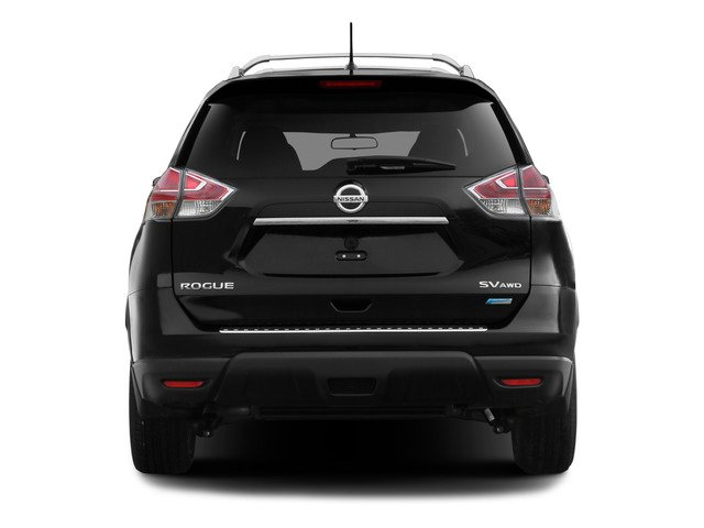 2015 Nissan Rogue Prices and Values Utility 4D SV 2WD I4 rear view