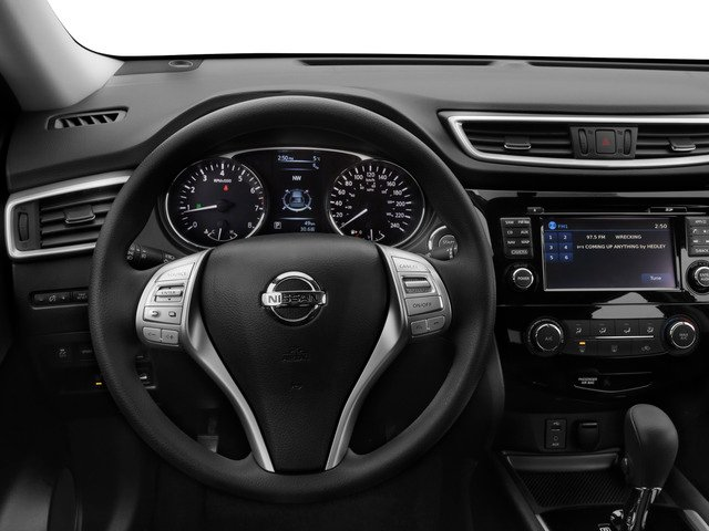 2015 Nissan Rogue Prices and Values Utility 4D SV 2WD I4 driver's dashboard