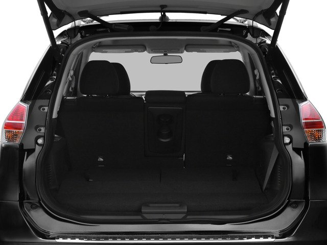 2015 Nissan Rogue Prices and Values Utility 4D S 2WD I4 open trunk