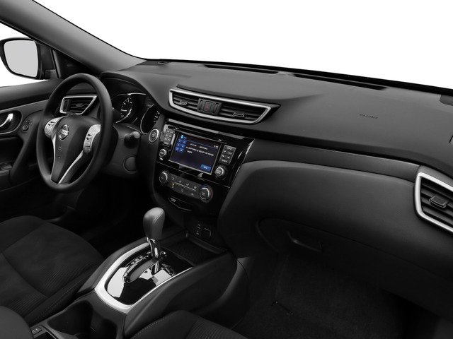 2015 Nissan Rogue Prices and Values Utility 4D S 2WD I4 passenger's dashboard