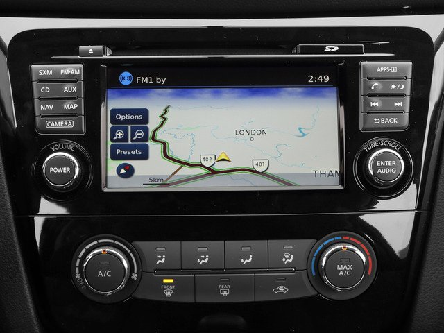 2015 Nissan Rogue Prices and Values Utility 4D SL 2WD I4 navigation system