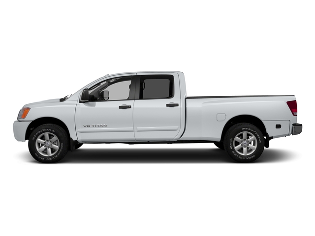 2015 Nissan Titan Prices and Values Crew Cab S 2WD side view