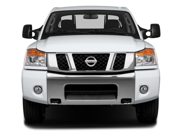 2015 Nissan Titan Prices and Values Crew Cab S 2WD front view