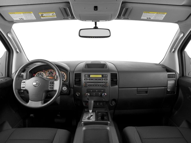 2015 Nissan Titan Prices and Values Crew Cab S 2WD full dashboard