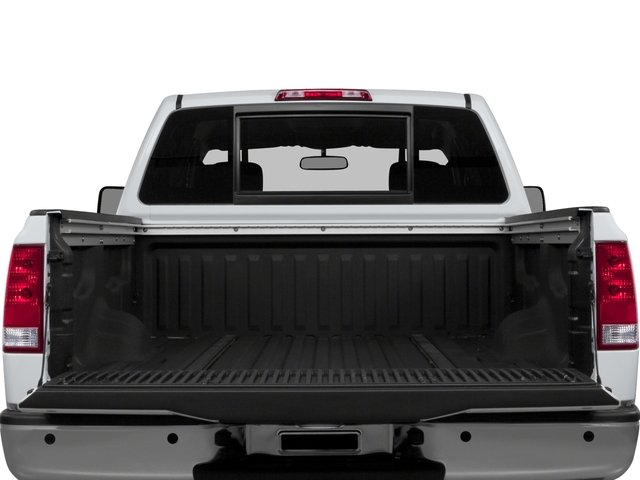 2015 Nissan Titan Prices and Values Crew Cab S 2WD open trunk