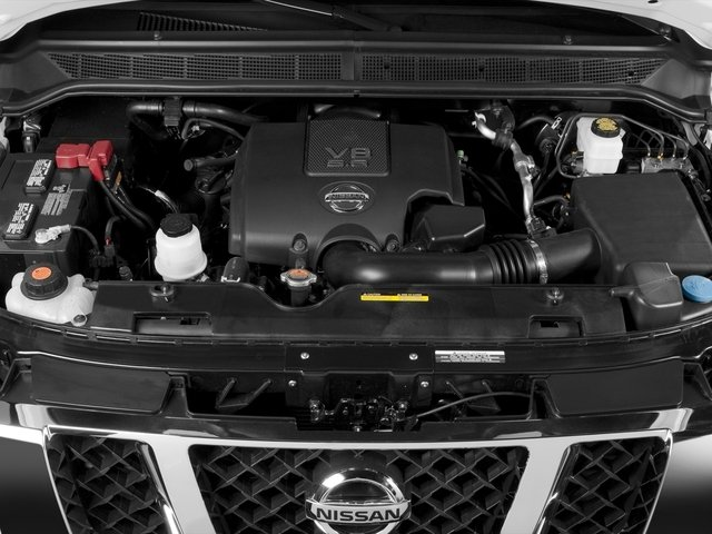 2015 Nissan Titan Prices and Values Crew Cab S 2WD engine