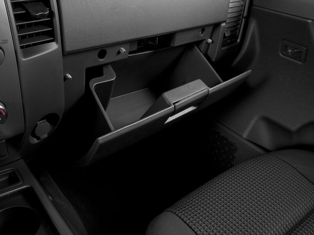 2015 Nissan Titan Prices and Values Crew Cab S 2WD glove box