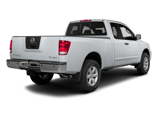 2015 Nissan Titan Prices and Values King Cab S 4WD side rear view