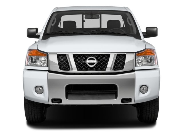 2015 Nissan Titan Prices and Values King Cab PRO-4X 4WD front view