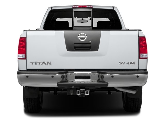2015 Nissan Titan Prices and Values King Cab S 4WD rear view