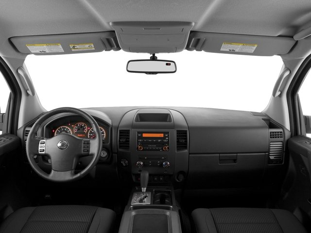 2015 Nissan Titan Prices and Values King Cab S 4WD full dashboard