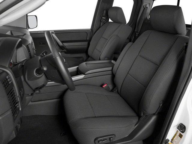 2015 Nissan Titan Prices and Values King Cab S 4WD front seat interior