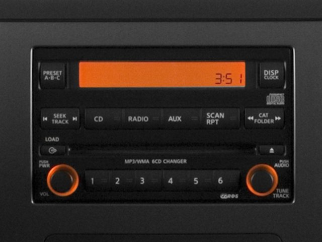 2015 Nissan Titan Prices and Values King Cab S 4WD stereo system