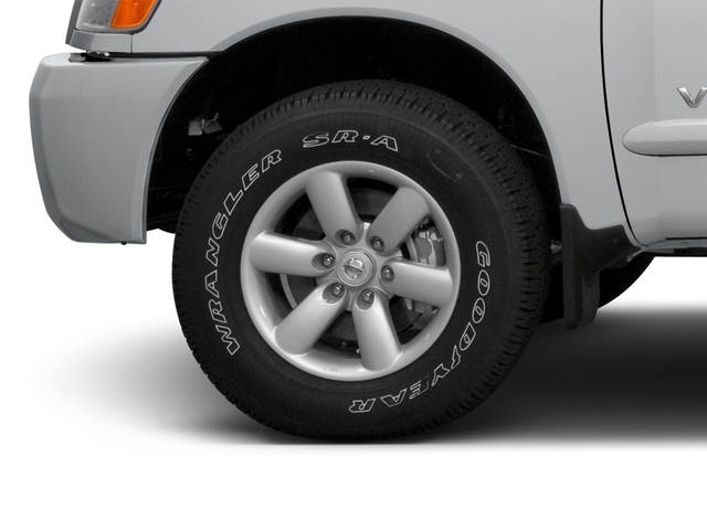 2015 Nissan Titan Prices and Values King Cab S 4WD wheel