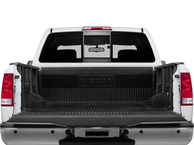 2015 Nissan Titan Prices and Values King Cab S 4WD open trunk