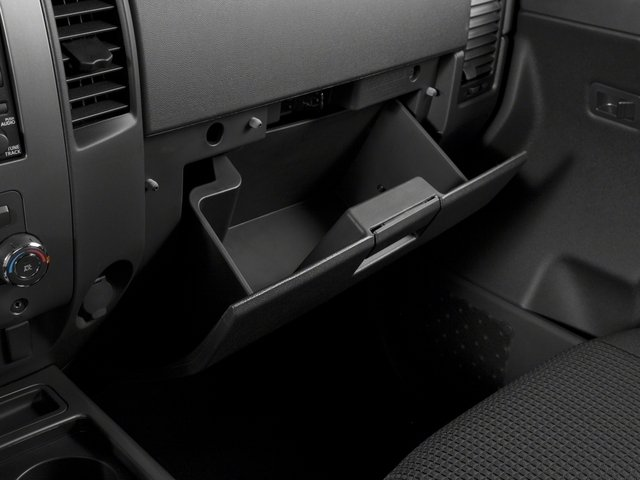 2015 Nissan Titan Prices and Values King Cab PRO-4X 4WD glove box