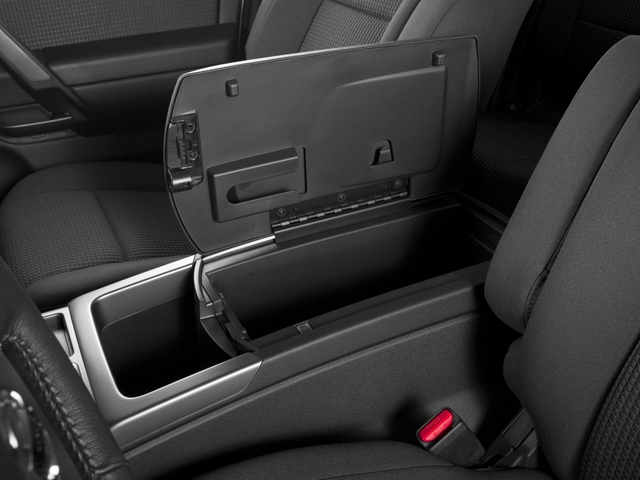 2015 Nissan Titan Prices and Values King Cab S 4WD center storage console