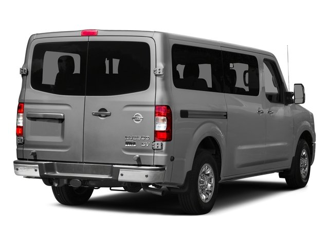 2015 Nissan NVP Prices and Values Passenger Van SV side rear view